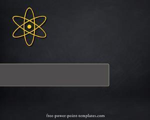 Plantilla de PowerPoint Nuclear y Radioactividad