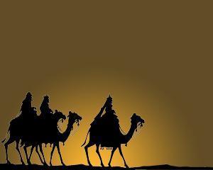 Plantilla PowerPoint de 3 Reyes Magos