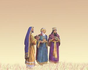 plantilla de PowerPoint de Reyes Magos