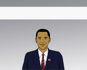 Plantilla PowerPoint de Obama PPT Template