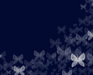 Mariposas Plantilla PowerPoint PPT Template
