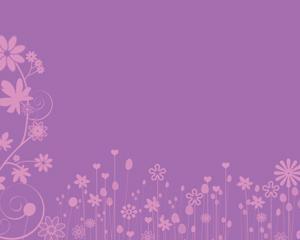 Flores Rosadas Powerpoint PPT Template