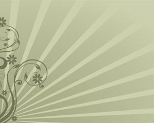 Flores Elegantes para PowerPoint PPT Template