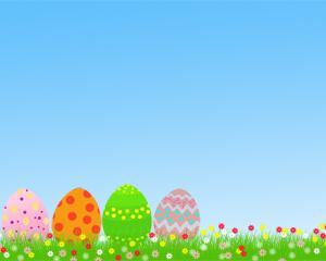Huevos de Pascua Powerpoint PPT Template