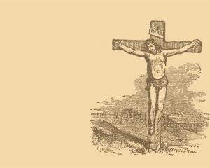Crucificción de Jesús PowerPoint PPT Template