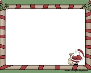 Carta a Papa Noel Powerpoint PPT Template