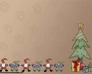 Feliz Navidad Plantilla Powerpoint PPT Template