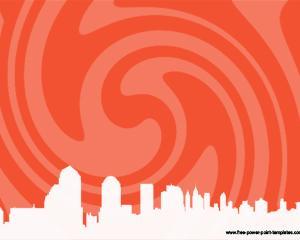 Modern city Powerpoint Presentation