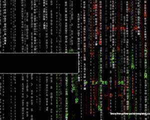 Plantilla PowerPoint de Tecnología Matrix PPT Template