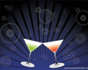 martini powerpoint template