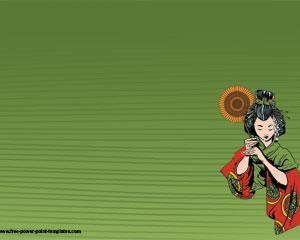 Geisha Plantilla Powerpoint