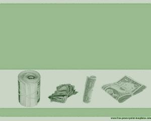 Dólares Plantilla Powerpoint PPT Template