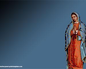 Virgen de Guadalupe Powerpoint PPT Template