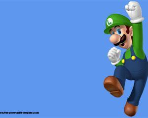 Luigi Bros Powerpoint Template