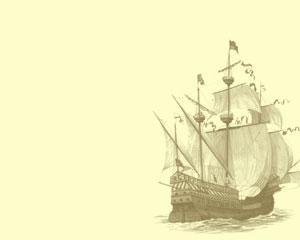 Barco Antiguo Plantilla Powerpoint