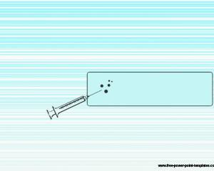 Plantilla PowerPoint de Inyección