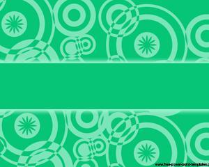 green retro power point