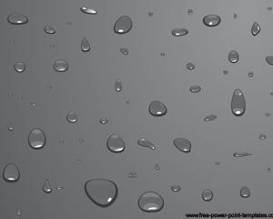 Plantilla Gotas de Agua Powerpoint PPT Template