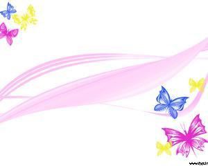 Mariposas Coloridas Powerpoint PPT Template