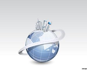 Plantilla PowerPoint de Mundo Metálico PPT PPT Template