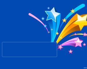 Super Estrellas Powerpoint PPT Template